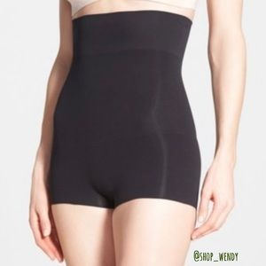 Spanx High Power Shaping Shorts Size L